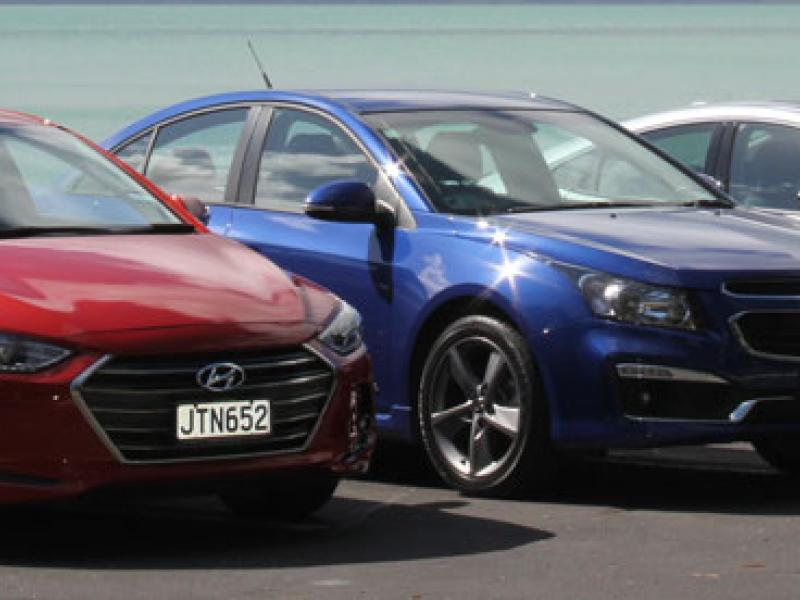 Group Comparison Test Holden Honda Hyundai