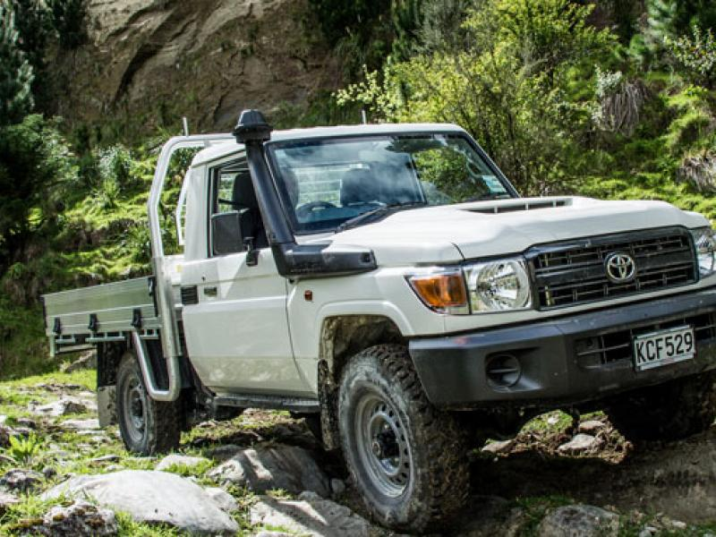 Tougher LC70 gets five stars