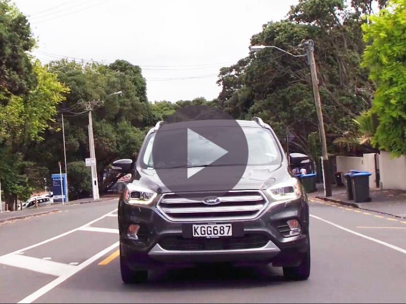 2017 Ford Escape Titanium - Video Road Report