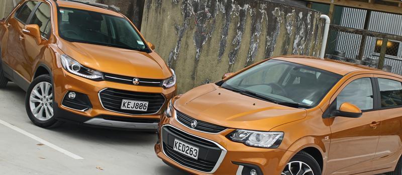 Holden Barina and Trax upgraded